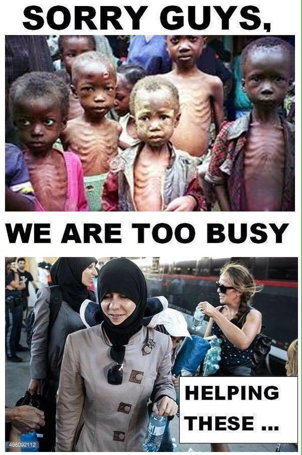 Fattige versus middelklasseflyktninger