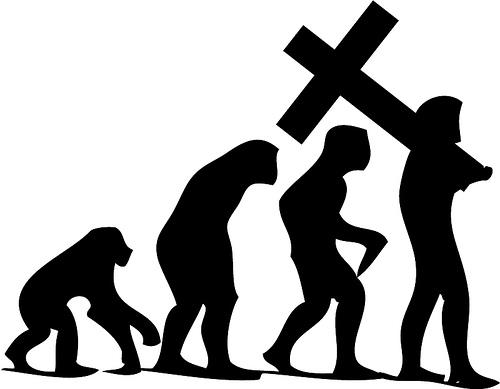 Evolution-Christian-Man
